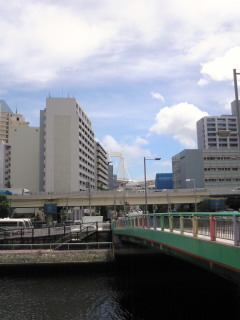 田町でお勉強中。